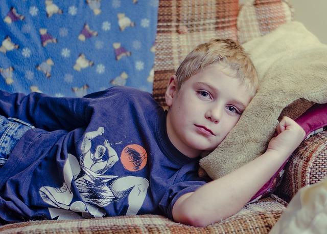 Przeziębienie u dziecka - sposoby na łagodzenie bólu