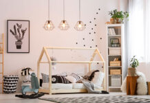 Oświetlenie w pokoju dziecięcym