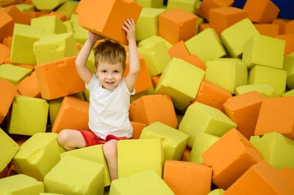 Sale zabaw dla dzieci w Warszawie
